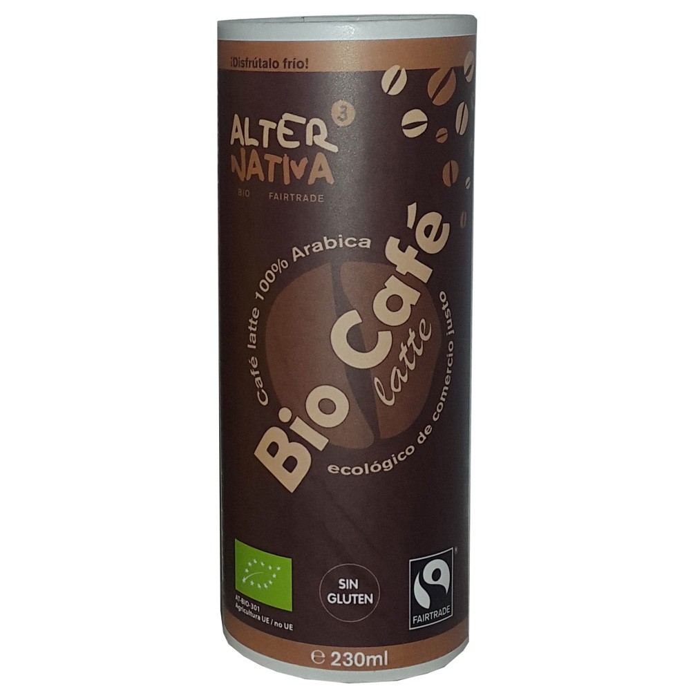 Bebida de café Latte BIO-FT. 230ml