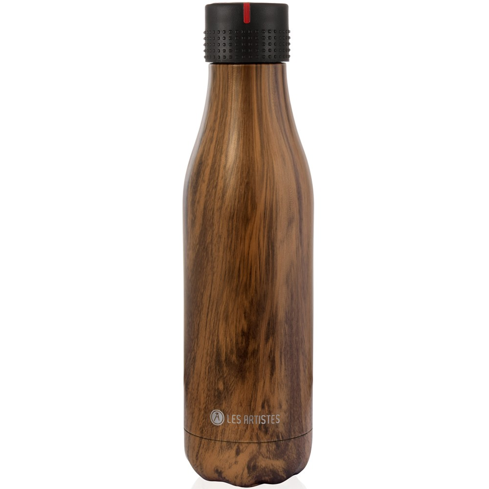 Botella inox Wood 500ml
