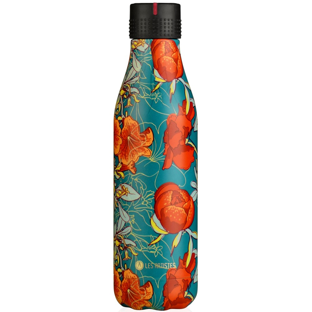 Botella inox Peonies 500ml