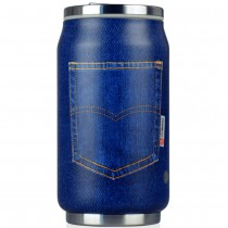 Lata inox Blue Jean 280ml